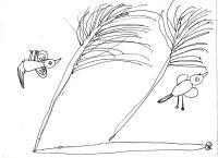 Птицы (вверх ногами)
