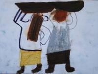 Женщины с корзиной