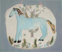 Голубая лошадь